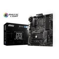 MSI Motherboard Z370 PC PRO ATX Intel Z370 64GB DDR4 PCI Express SATA LAN Retail