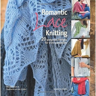 Search Press Books-Romantic Lace Knitting