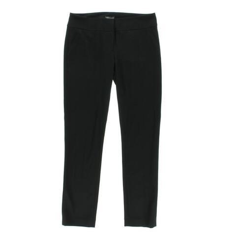 Vince Camuto Womens Dress Pants Faux Pockets Straight Leg