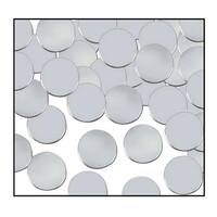 Club Pack of 12 Silver Fanci-Fetti Dot Celebration Confetti Bags 1 oz.