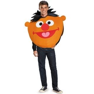 Disguise Ernie Sandwich Board Adult Costume - Orange - Standard