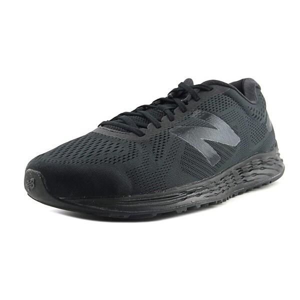 New Balance Arishi Men Round Toe Synthetic Black Running Shoe