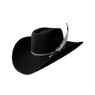 Resistol Cowboy Hat Mens Bull Bash 4X Black