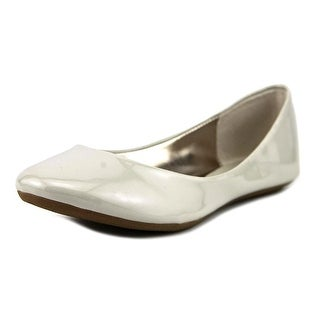 Steve Madden P-Heaven Women  Round Toe Synthetic Gray Flats