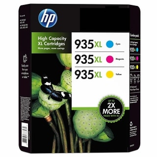 Link to HP 935XL Ink Cartridges in Retail Packaging Cyan, Magenta, Yellow - Multi-color Similar Items in Printers & Supplies