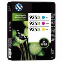 HP 935XL Ink Cartridges in Retail Packaging Cyan, Magenta, Yellow - Multi-color