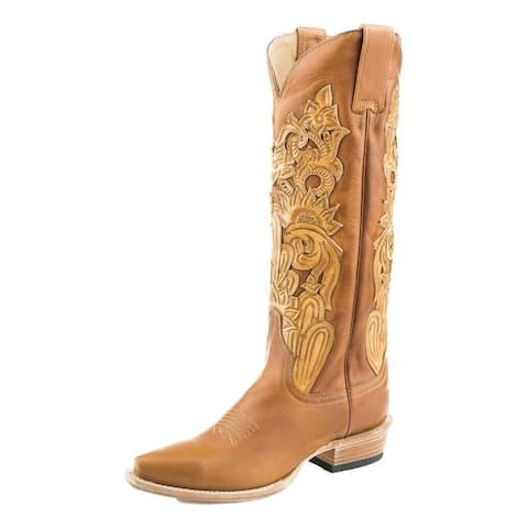 Stetson Fashion Boots Womens Jules Hang Tool Brown