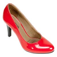 Rialto Women's Coline Pump Red Patent