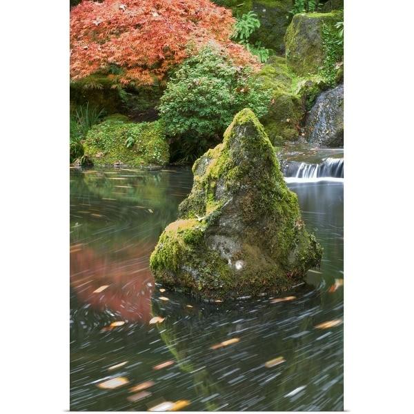"""Japanese Garden, Portland, Oregon, USA"" Poster Print"