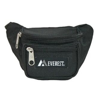 Everest Kids' Fabric Adjustable Organizer Waist Pack