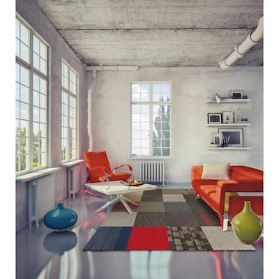 Carpet Tiles Dynasty Home Premium Quality 2'x2' Tiles Assorted