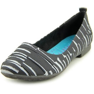 Blowfish Rukus Women Round Toe Canvas Black Flats