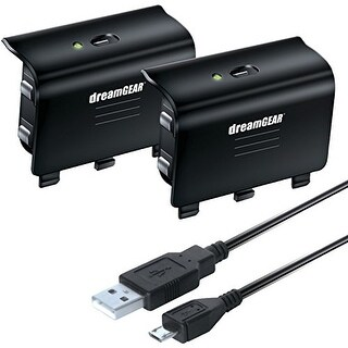 DREAMGEAR DRMXB16608B Xbox One Charge Kit