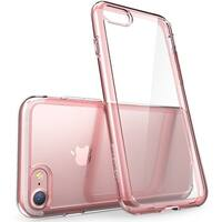 iPhone 7 Case, Scratch Resistant, i-Blason, Clear Halo Series,  for Apple iPhone 7 Cover 2016 Release (Clear/Rose Gold)