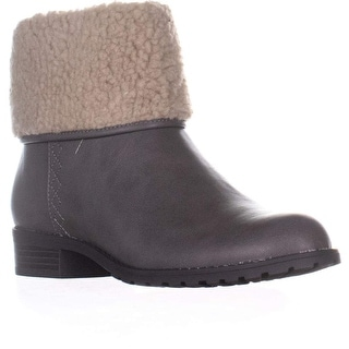 Link to Style & Co. Womens Bettey Leather Almond Toe Ankle Chelsea Boots Similar Items in Women's Shoes