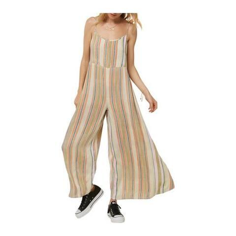 O'Neill Women's Juls Stripe Lined Jumpsuit Multicolored