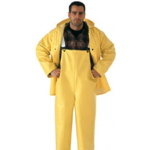 Tingley S53307-MD Industrial Work Overall Suit, Medium, Yellow