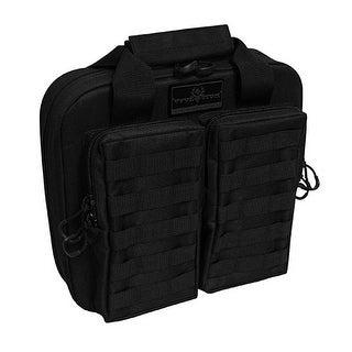 Evolution Design Tactical Double Pistol Case w/ 2 Padded Interior Pockets