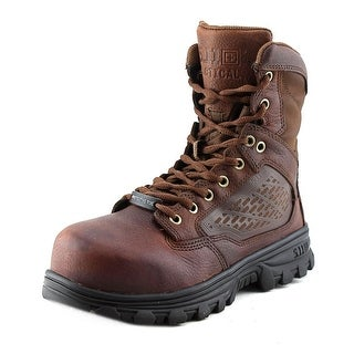 5.11 Tactical Evo 6 W Round Toe Leather Combat Boot