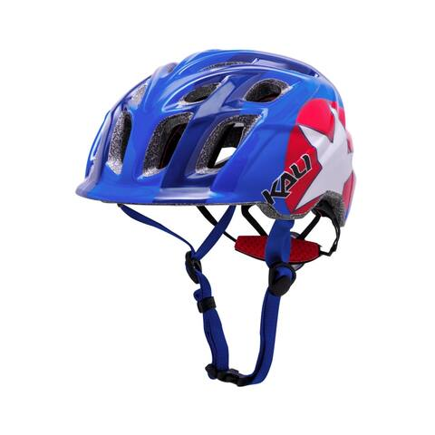 Kali Protectives Bike Helmet Chakra Child Star (Blue/Red) - 48-54cm
