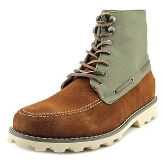 Generic Surplus M Mojave Men Round Toe Suede Green Boot