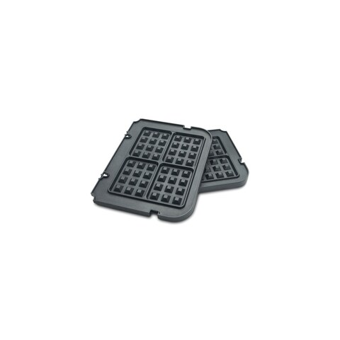 Grill Accessory Waffle Plate compatible with GR-4N Griddler Waffle Plates For Use With Gr-4N
