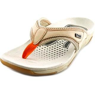 Propet Hartley Women 2A Open Toe Leather Tan Thong Sandal