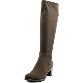 Donald J Pliner Dema-d Round Toe Synthetic Knee High Boot