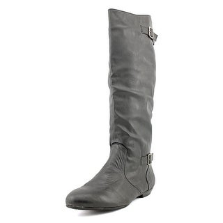 Chinese Laundry Next Shot Women Round Toe Synthetic Black Knee High Boot