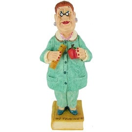 """#1 Teacher"" Bobble Figurine by Russ Berrie"