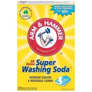 Arm & Hammer 03020 Detergent Booster & Household Cleaner, 55 Oz