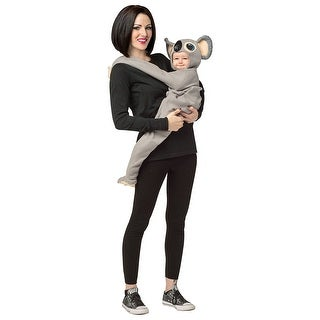 Huggables Koala Baby Costume, 3-9M - Grey
