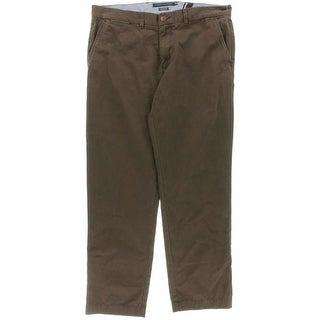 Tommy Hilfiger Mens Chino Pants Twill Custom Fit