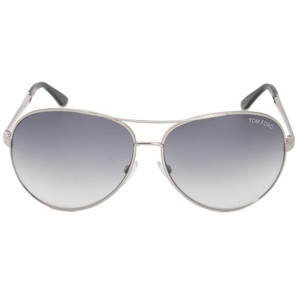 629d9a79d3 Shop Tom Ford Charles Aviator Sunglasses FT0035 753 62 - Free ...