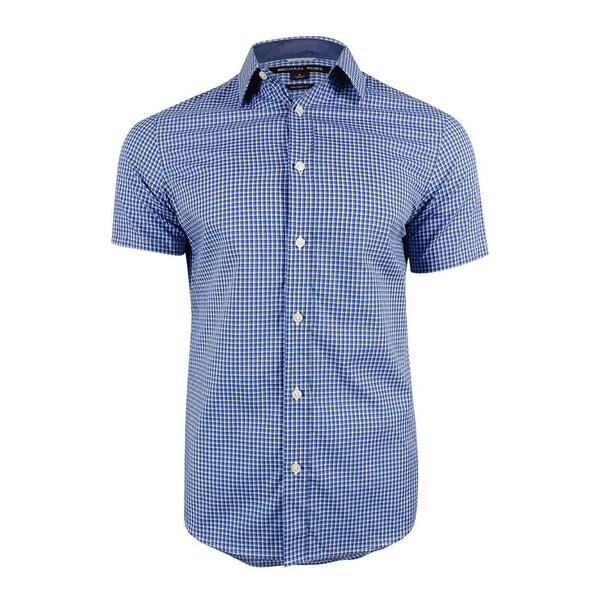 c89e074124c5 Shop Michael Kors Men s Lucas Check Shirt (Kelp