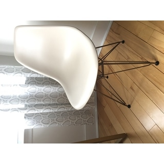 Design Guild Living Banks Chair with Gold Legs