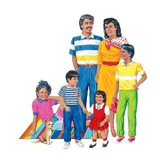 Hispanic Family Flannelboard Set