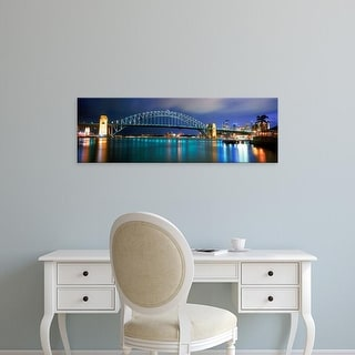 Easy Art Prints Panoramic Images's 'Sydney Opera House, Sydney Harbor, Sydney, New South Wales, Australia' Canvas Art