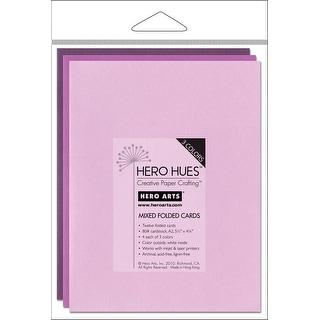 "Hero Arts A2 Cards (4.25""X5.5"") 12/Pkg-Floral Mix"