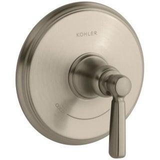 Kohler K-T10593-4 Bancroft Single Metal Lever Handle Thermostatic Valve Trim