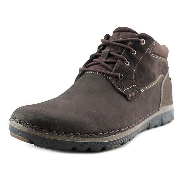 Rockport Lightweight Shock Men Round Toe Leather Chukka Boot