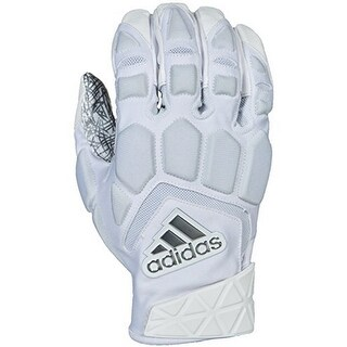 Adidas Mens Freak Max Lineman Glove (Option: White/White - XXL)
