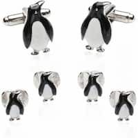 Penguin Formal Set Of Cufflinks And Studs