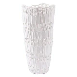 Modern Tall Vase White