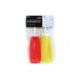 Ketchup and mustard dispenser set - Pack of 24