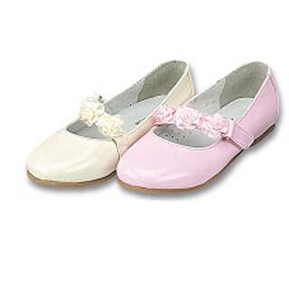 Toddler Little Girls Patent Floral Flower Girl Easter Dress Shoes 5-2
