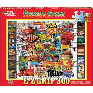 White Mountain Puzzles Favorite Games Jigsaw Puzzle - Piece of 300