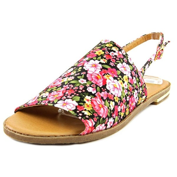 Cape Robbin Kama-QNS-1 Women Open-Toe Synthetic Multi Color Slingback Sandal