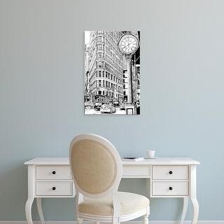 Easy Art Prints Melissa Wang's 'B&W City Scene VII' Premium Canvas Art