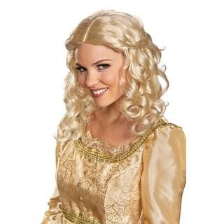 Maleficent Movie Disney Aurora Adult Costume Wig